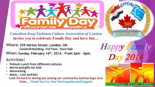 Family Celebration Ideas Family Day Celebration on