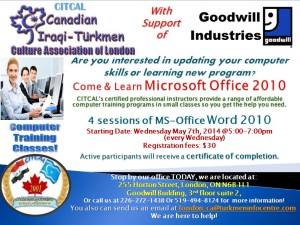 MS-Word 2010 May 2014