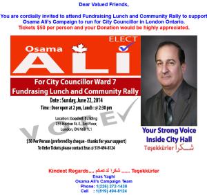Osama Ali's Campaign