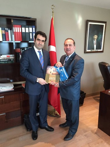 Visiting Turkish Ambassador