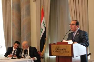 Turkmen at Iraqi Embassy in Ottawa